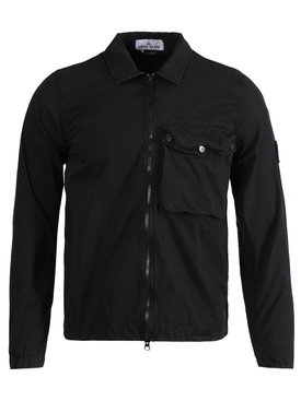 Classic Zip-Up Jacket BLACK