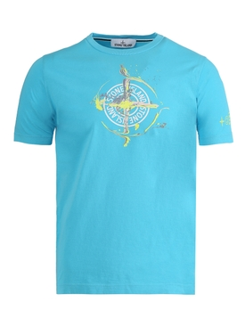 CLASSIC FIT LOGO T-SHIRT TURQUOISE