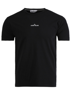 CLASSIC LOGO DETAIL T-SHIRT BLACK