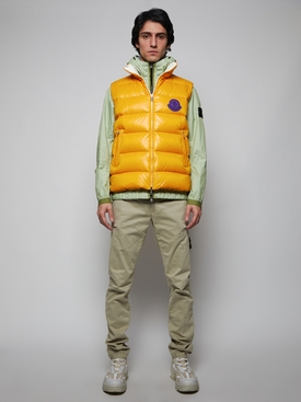 Hooded Zipped Jacket LIGHT GREEN