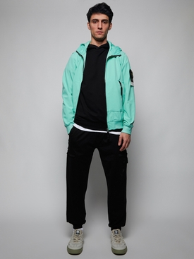 Classic fit hoodie BLACK