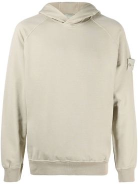Classic fit hoodie KHAKI