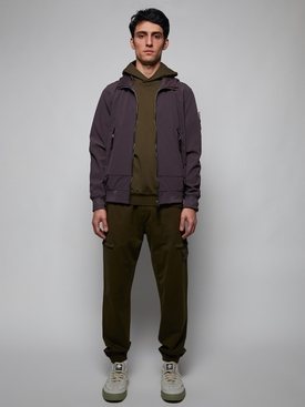 FLEECE PANTS MILITARY GREEN