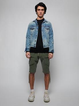 Classic Cotton Pullover Sweatshirt BLACK
