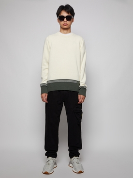 TAPERED-FIT CARGO PANTS BLACK