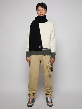TAPERED-FIT CARGO PANTS Natural Beige