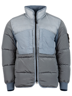 REAL DOWN PADDED COAT Mid Blue