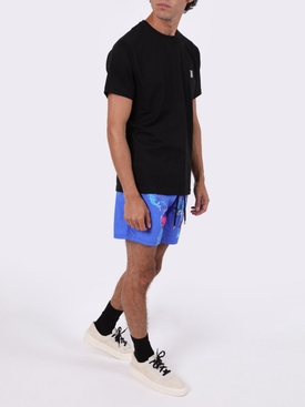 GLOBAL MAP SONAR  SWIM SHORTS