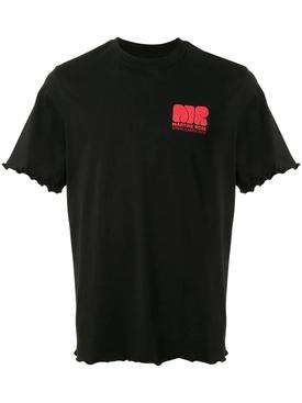 Lettuce Hem Logo T-shirt BLACK
