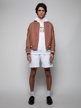 Embroidered Hoodie WHITE LAUREL