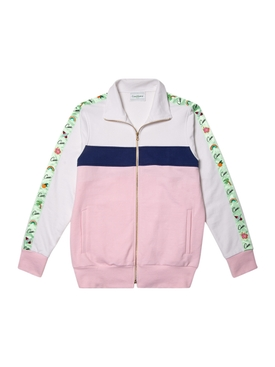 Casa Hawaii Apres Surf Track Top PINK