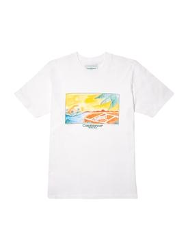 Casa Graphic Printed T-Shirt WHITE ISLAND VUE