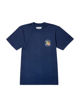 Casa Graphic Printed T-Shirt NAVY