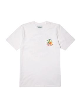 Casa Graphic Printed T-Shirt WHITE