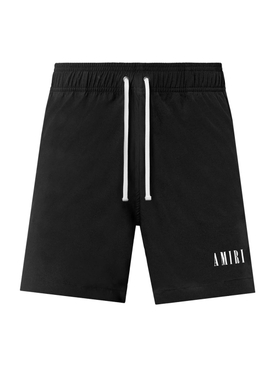 LOGO SWIM TRUNK, black