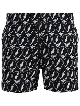 X GRATEFUL DEAD SKULL PRINT SWIM TRUNKS