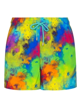 Bright multicolor Moorise swim shorts