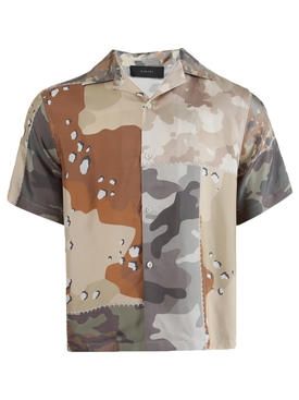 PATCHWORK CAMO SHORT SLEEVE SHIRT