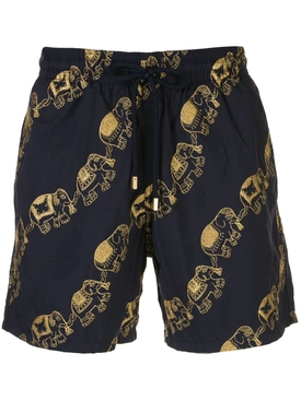 Elephant Print Swim Shorts