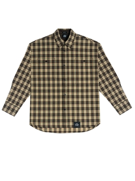 Light Brown Plaid Shirt