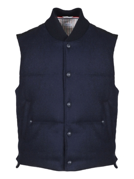 Blue navy vest