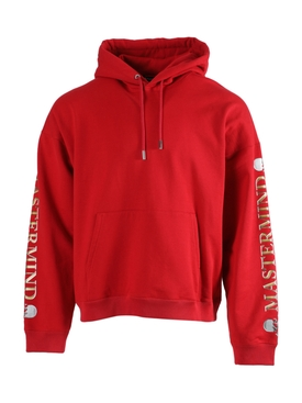 Mastermind World - Red Skull Logo Hoodie - Men