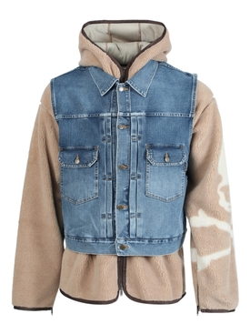 Layered Denim Jacket