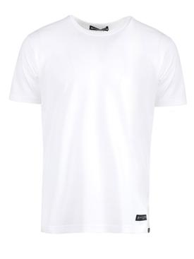 CLASSIC CREWNECK T-SHIRT, WHITE