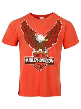 Harley Davidson Eagle T-shirt Orange Crush