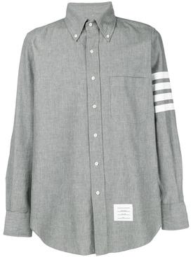4-Bar Chambray Shirt MEDIUM GREY