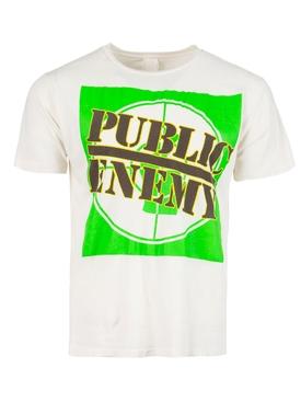 Public Enemy t-shirt vintage white