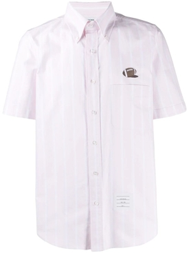 Banker Stripe Oxford Shirt LIGHT PINK