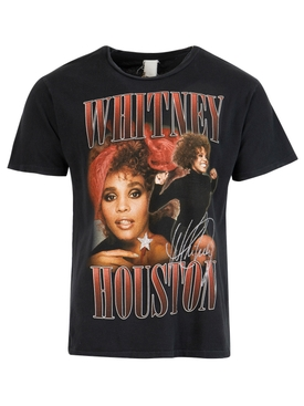 Whitney Houston T-shirt Vintage Black