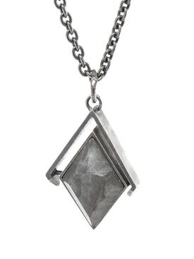 Diamond Spinning Necklace