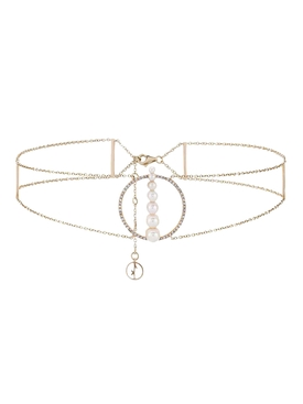 Rose Gold Corne de Gazelle Choker