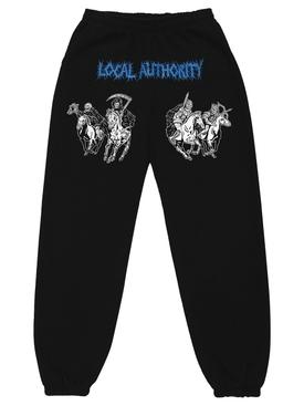 4 Horsemen Fleece Pant Black