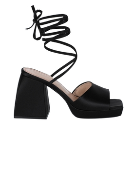 Bulla Marshall Wrap-Around Sandals Black