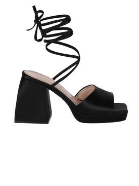 Bulla Marshall Wrap-Around Sandals Black