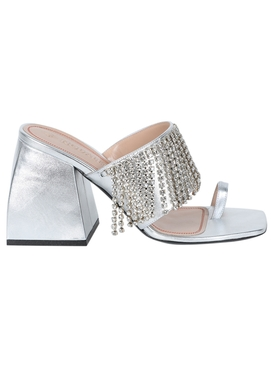 Sliver Bulla Preston Crystal Sandals