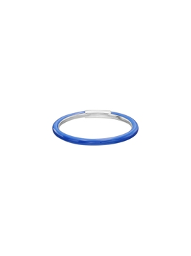 Blue Enamel Ring