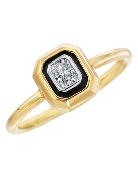 Radiant Cut Diamond Stacking Ring