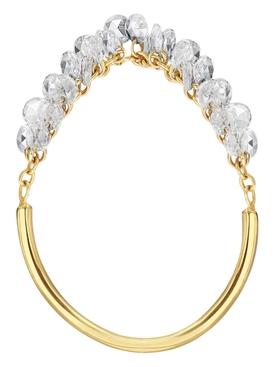Rosecut Diamond Mini Fringe Ring