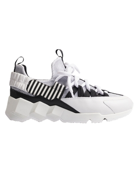 Trek Comet Multi-panel Sneaker WHITE BLACK