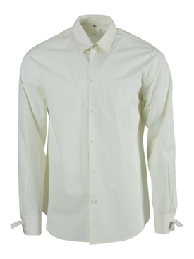 Natural White Restraint Button-Down Shirt