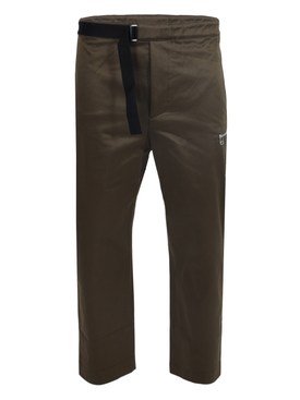 Military green regs pants