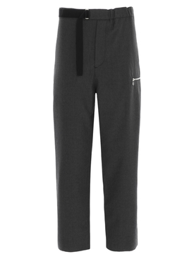 Grey Wool Regs Trousers