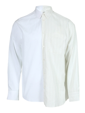 Two-toned Quadra button-down shirt