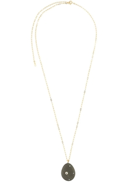 Olivia Diamond and Stone Necklace