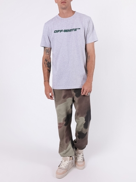 Trellis worker logo t-shirt GREY