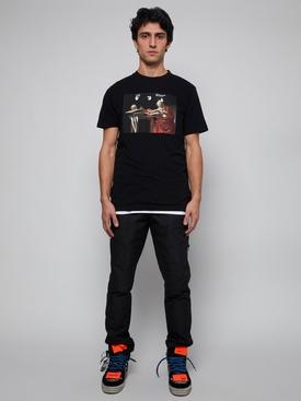 Carravaggio Graphic T-Shirt Black Red